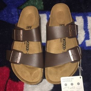 Brand new  Arizona Birkenstock sandals